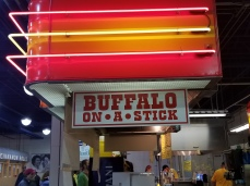 Buffalo on a Stick